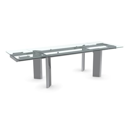 Calligaris Tower Wood Adjustable Extension Dining Table