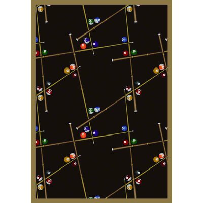 Joy Carpets Gaming & Entertainment Snookered Rug