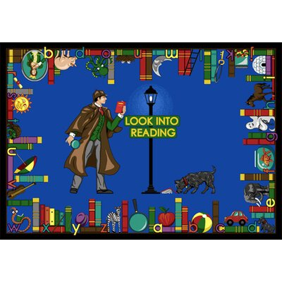 Joy Carpets Educational Look Into Reading Kids Rug