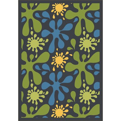 Joy Carpets Whimsy Splat Kids Rug
