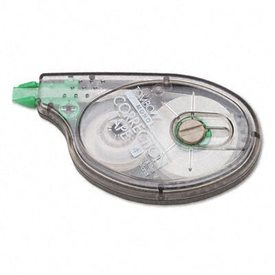 "Tombow Mono Correction Tape, Non-Refillable, 1/6"" X 394"", 4/Pack"