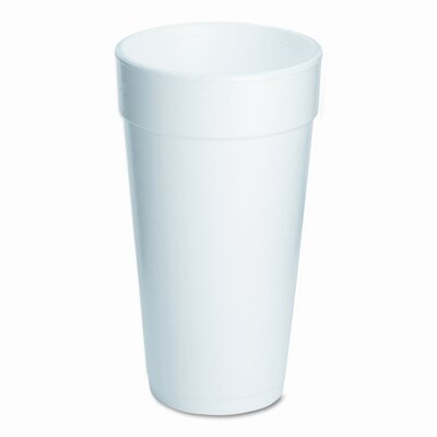 Dart Container Corp. (500 per Carton) 20 oz Drink Foam Cups in White