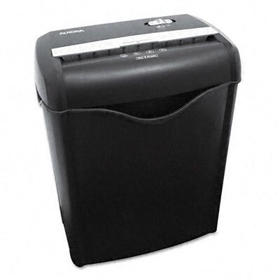 Aurora Universal 38182 Light-Duty Cross-Cut Shredder, 8 Sheet Capacity