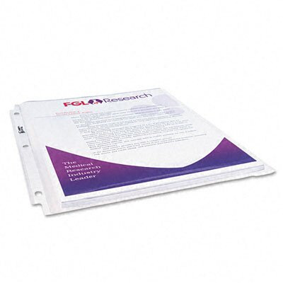 Avery Consumer Products Multi-Page Top-Load Sheet Protectors, Heavy Gauge, Letter, Clear, 25/pack