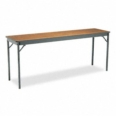 BARRICKS MANUFACTURING CO                          Special Size Folding Table, Rectangular, 72W X 18D X 30H