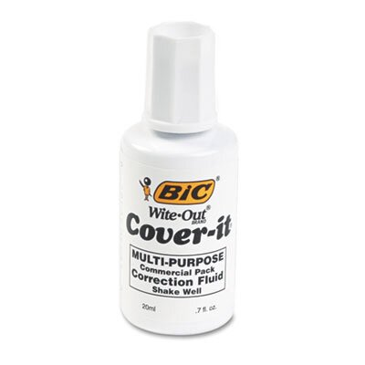 Bic Corporation 20 Ml Bottle Cover-It Correction Fluid