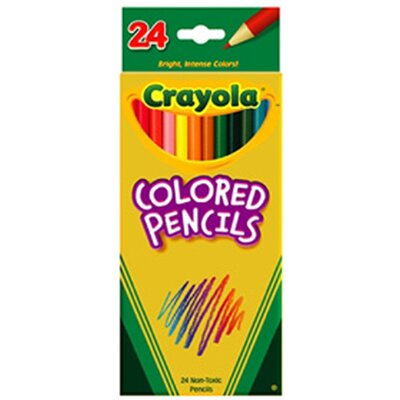 Crayola LLC Crayola Colored Pencils 24pk Asst