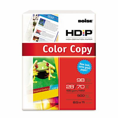Boise® Hd:P Color Copy Paper, 98 Brightness, 28Lb, 8-1/2 X 11, 500 Sheets/Ream
