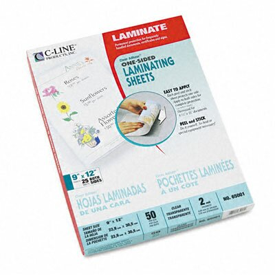 C-Line Products, Inc. Cleer Adheer Laminating Film (50/Box)