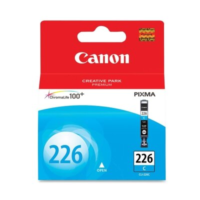 Canon Ink Cartridge, 535 Page Yield, Cyan
