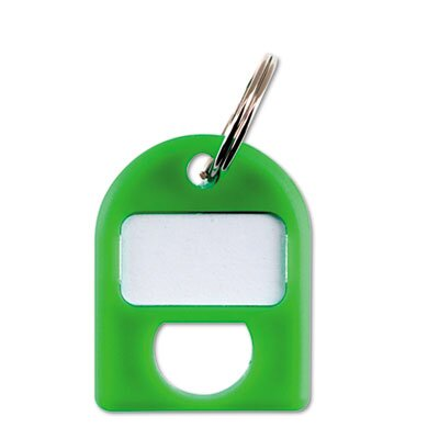 Carl Manufacturing 0.75 x 1 Replacement Key Tags, 3/4 X 1, Plastic (8/Pack)