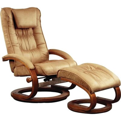 Mac Motion 82 Series Ergonomic Recliner and Ottoman