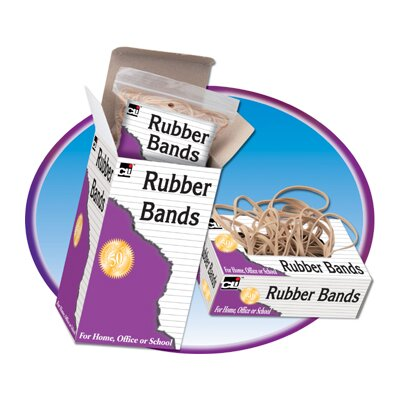 Charles Leonard Co. Rubber Bands 3 1/2 X 1/4