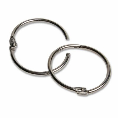 "Charles Leonard Co. Multi-Purpose Rings, 1-1/2"" Diameter, Aluminum"