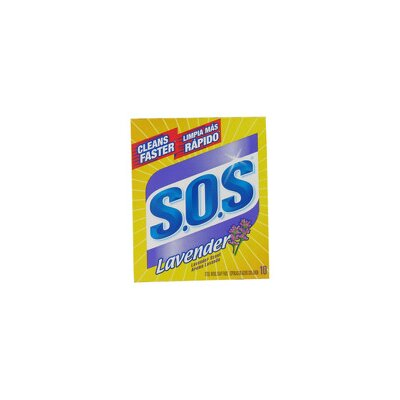 Clorox Company Lavender S.O.S. Soap Pad (Set of 10)