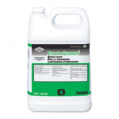 DRACKETT PROFESSIONAL                              Floor Science Spray Buff, 1 Gal Bottle, 4/Carton