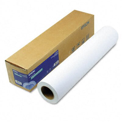 "Epson America Inc. Enhanced Matte Photo Paper, 24"" x 100', Roll"