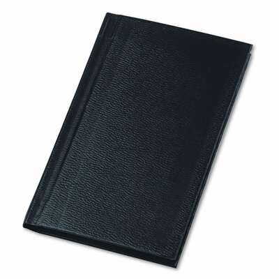 BOORUM & PEASE Pocket Size Bound Memo Book, Ruled, 3.25 x 5.25, White, 72 Sheets/Pad