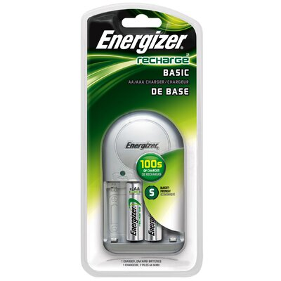 Energizer® Recharge Basic AA or AAA Battery Charger
