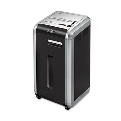 Fellowes Mfg. Co. Powershred 225I Continuous-Duty Strip-Cut Shredder, 20 Sheet Capacity