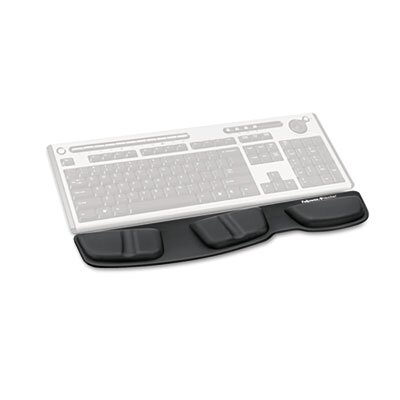 Fellowes Mfg. Co. Professional Series Memory Foam Keyboard Palm Support