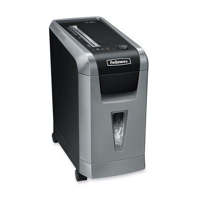 Fellowes Mfg. Co. Powershred 69Cb Deskside Cross-Cut Shredder, 10 Sheet Capacity