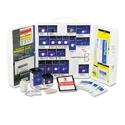First Aid Only™ Large First Aid Kit, 209 Pieces, Osha Compliant, Plastic Case