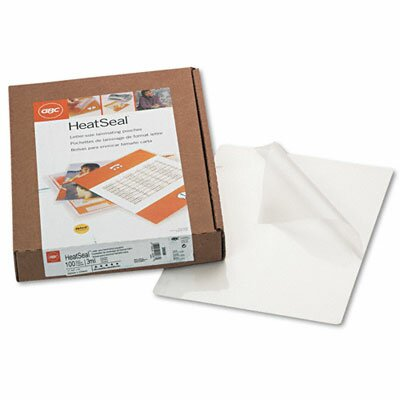 GBC® Swingline Heatseal Laminating Pouches, 3 Mil, 100/Box