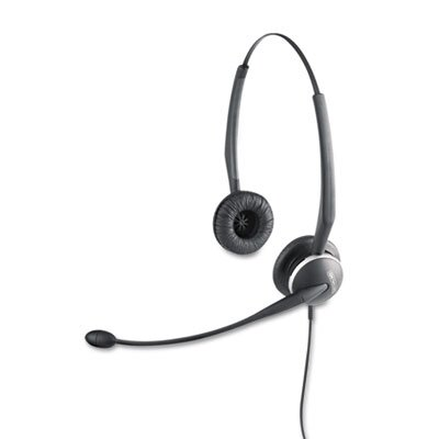 GN NETCOM GN 2120 Cord Flex Binaural Over-Head Desk Telephone Headset