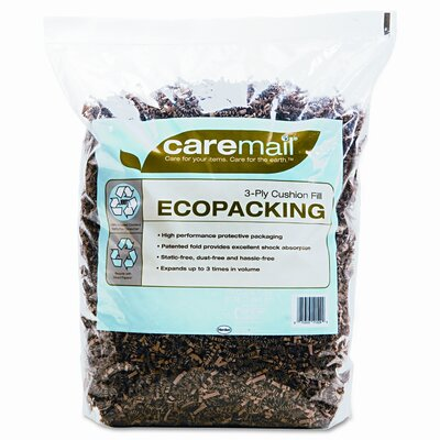 HENKEL CORPORATION Caremail Caremail Ecopacking Protective Packaging, 0.31 Cubic Feet
