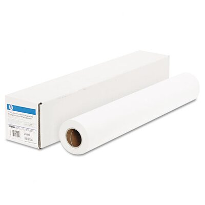"HP Everyday Adhesive Matte Polypropylene, 180 g/m2, 2"" Core, 24"" x 75 ft, White"