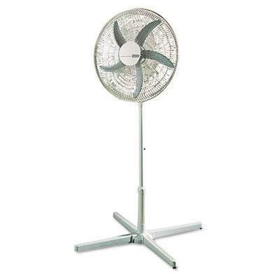 "Holmes® 20"" Three-Speed Adjustable Oscillating Power Stand Fan, Metal/Plastic"
