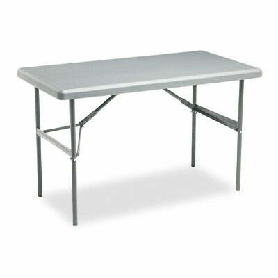 Iceberg Enterprises Indestructable Too 1200 Series Resin Folding Table, 48W X 24D X 29H