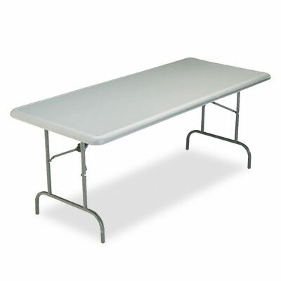Iceberg Enterprises Indestructable Too 1200 Series Resin Folding Table, 72W X 30D X 29H