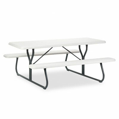 Iceberg Enterprises Indestructable Too 1200 Series Resin Picnic Table
