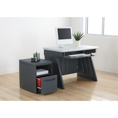Iceberg Enterprises SnapEase File/Printer Stand in Charcoal