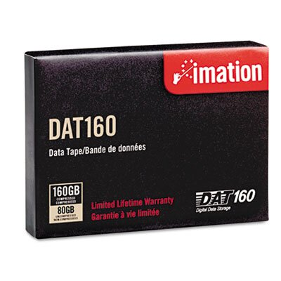 Imation 8 mm Cartridge, 160m, 80GB Native/160GB Compressed Capacity