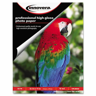 Innovera® High-Gloss Photo Paper, 50 Sheets/Pack