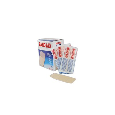 "Johnson & Johnson X 4"" Band-Aid® Brand Extra Large Flexible Fabric Woven Bandage (50 Per Box)"