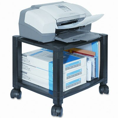 Kantek Mobile Printer Stand, 2-Shelf