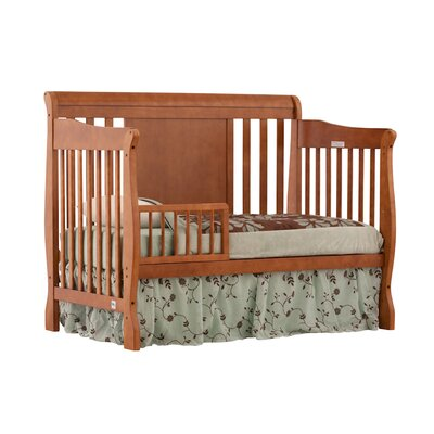 Storkcraft Verona Fixed Side Convertible Crib in Oak
