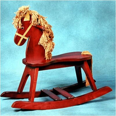 Storkcraft PlayTyme Child's Rocking Horse in Cherry