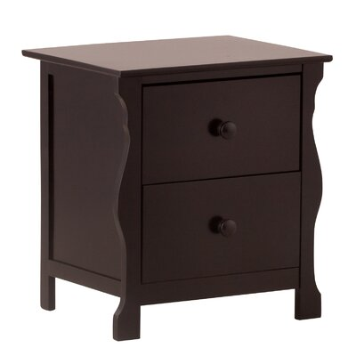 Carrara 2 Drawer Nightstand