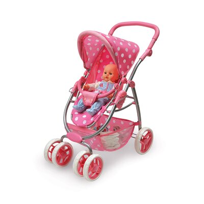 Badger Basket Six Wheel Doll Stroller