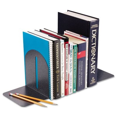 MMF Industries Steelmaster Fashion Bookends, Pair