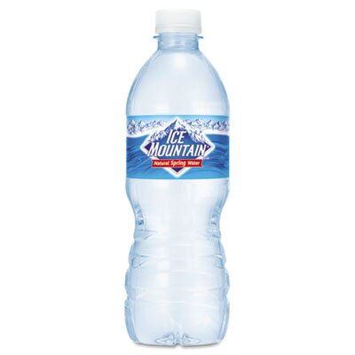 Nestle' USA Bottled Spring Water, 1/2-Liter Size, 24 Bottles/Carton