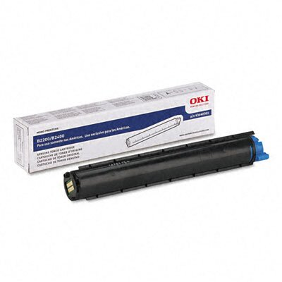 OKI 43640301 Laser Cartridge, Black