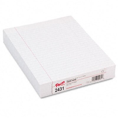 Pacon Corporation Composition Paper with Rule, 500 Sheets/Pack