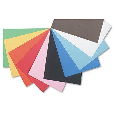 Pacon Corporation Tru-Ray Construction Paper, Sulphite, 12 x 18, Assorted, 50 Sheets