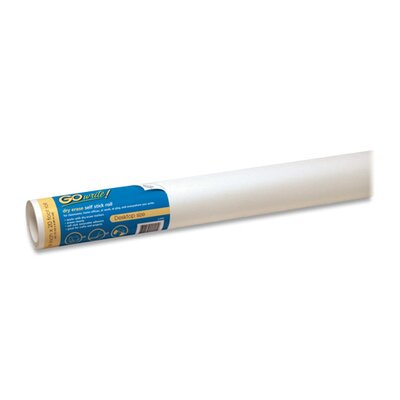 "Pacon Corporation Dry-Erase Rolls, Adhesive, 18""x20', 6/RL, White"